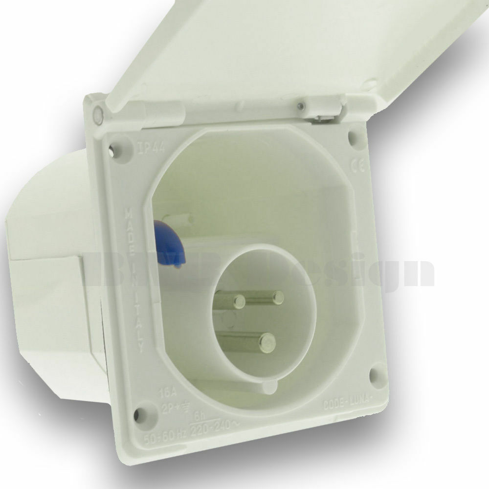Caravan hook up socket