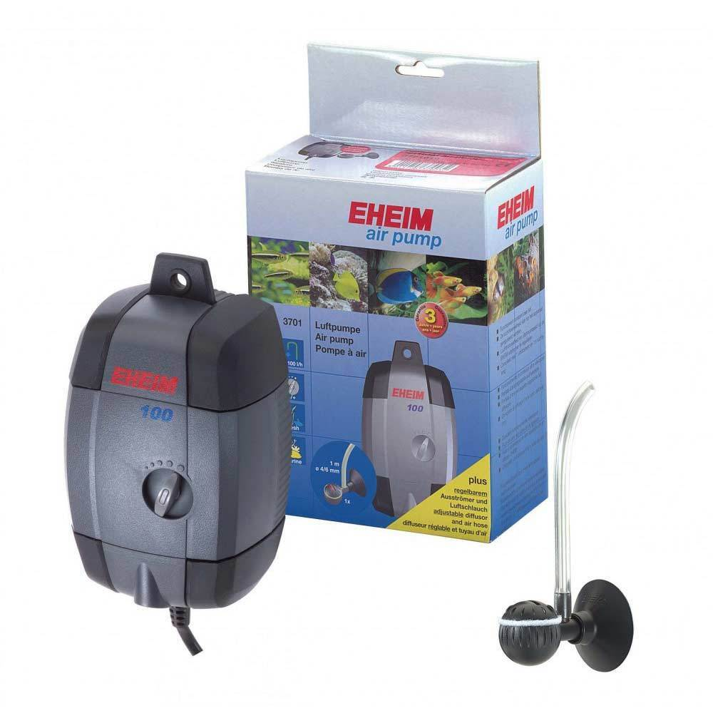 Eheim fish tank air pump 100 200 400 airline airstone for Air pump for fish tank