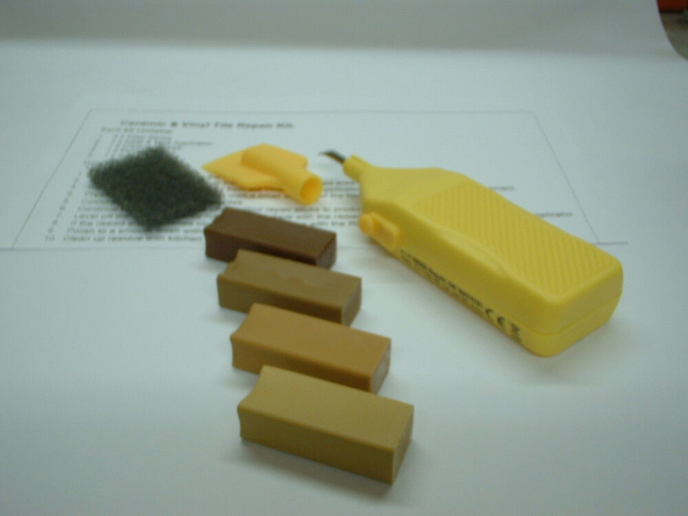 Ceramic Amp Vinyl Tiles Repair Kit For Beige Stone Tan