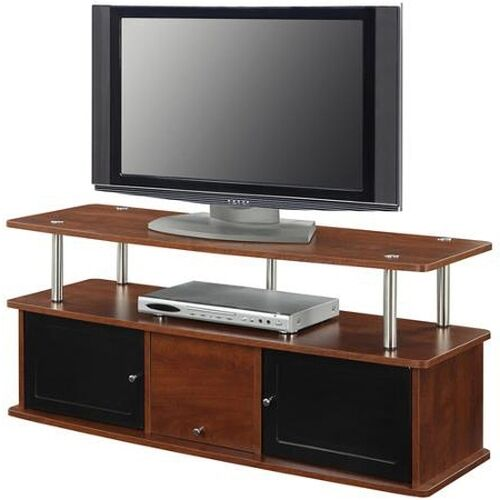 modern tv stand media entertainment center console unit home theater furniture c ebay. Black Bedroom Furniture Sets. Home Design Ideas