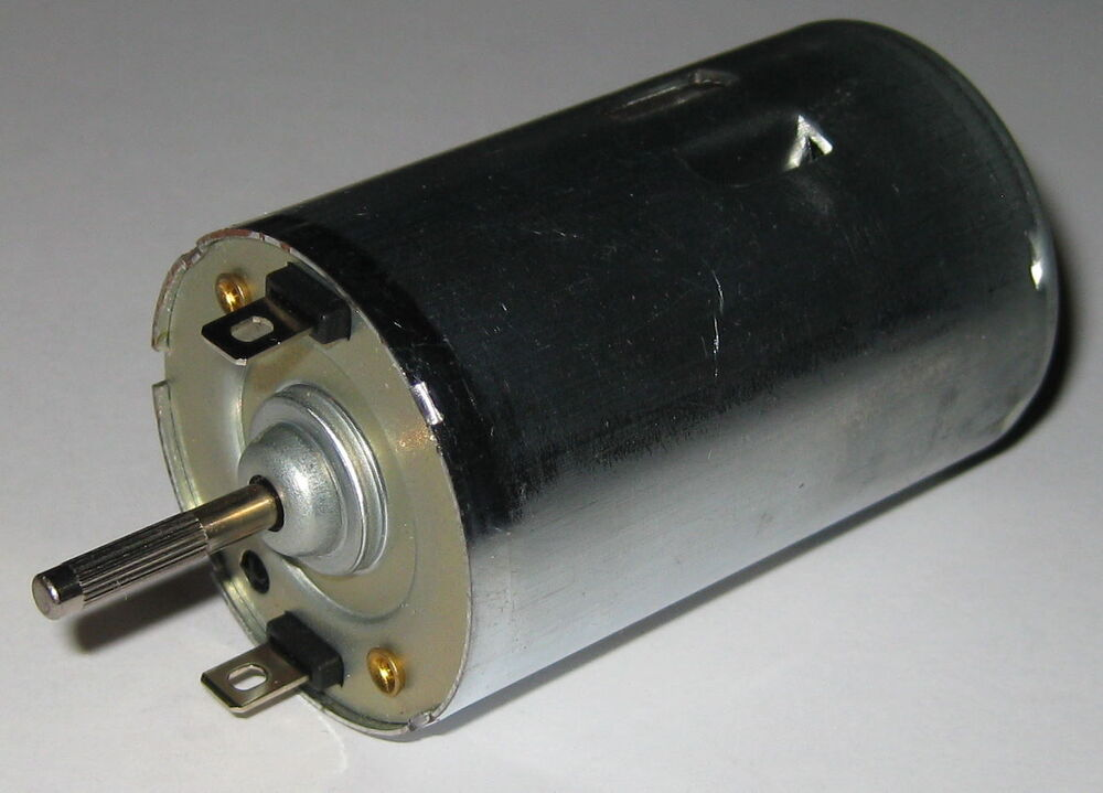 24v Dc Electric Hobby Motor 4400 Rpm Shaft Same