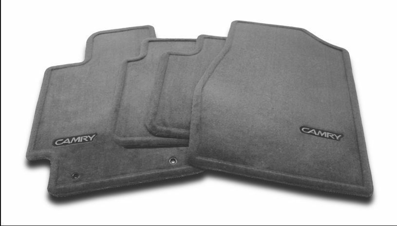 genuine toyota 2007 2011 camry carpet floor mats dark. Black Bedroom Furniture Sets. Home Design Ideas