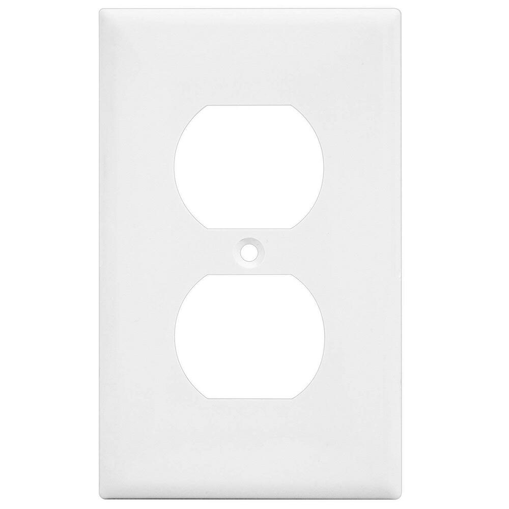 10 Pack 1 Gang Over sized Unbreakable Duplex Outlet Wall