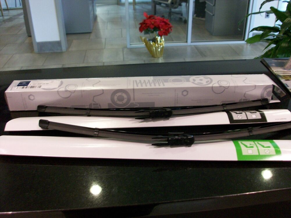 Oem genuine mercedes benz wiper blades 15 up c class w205 for Mercedes benz c300 wiper blades