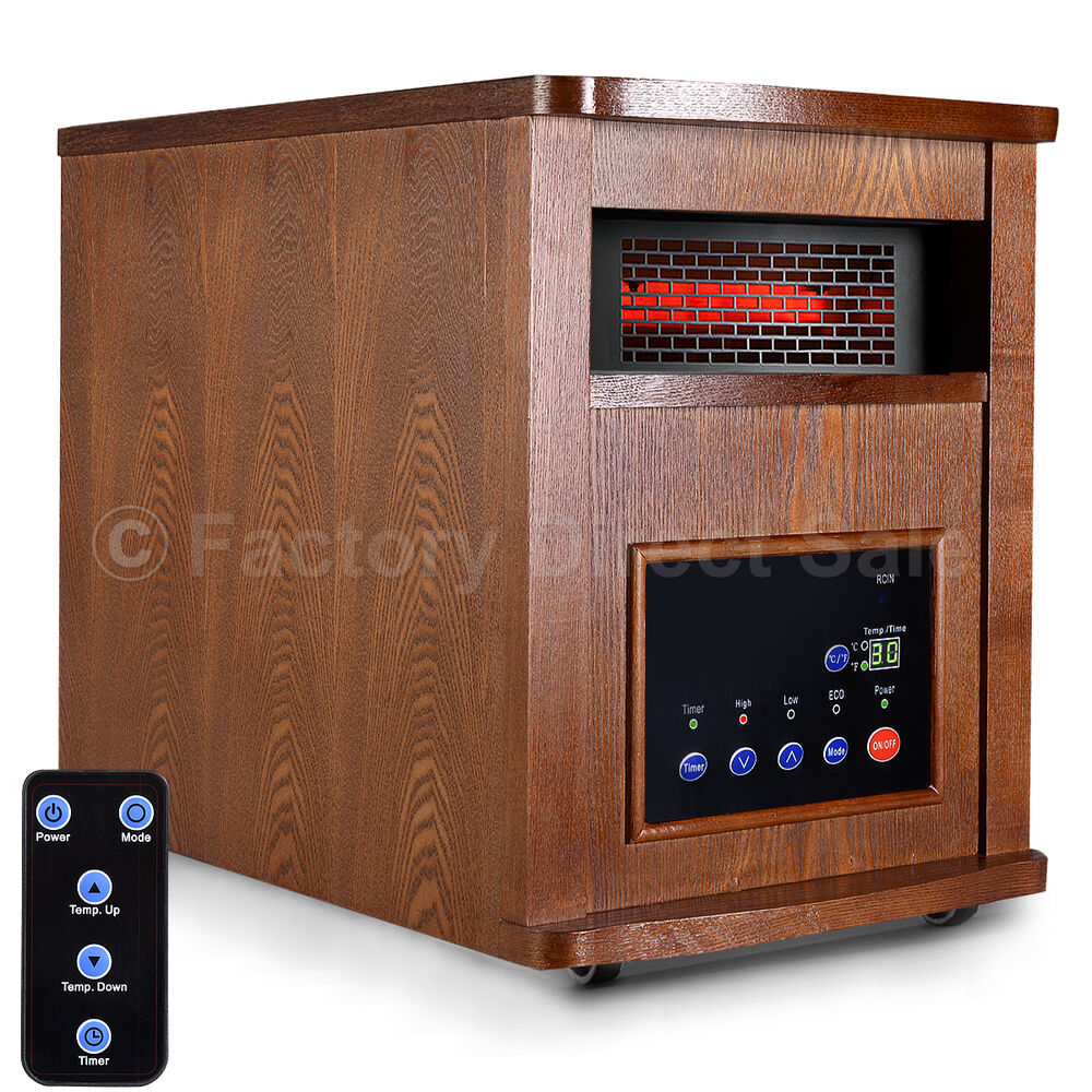 Space Heaters For Living Room: Goplus 6 Element 1500W Infrared Quartz Heater Large Room W