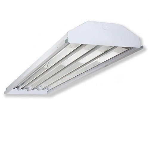 4 Lamp F32T8 Fluorescent High Bay Light Warehouse Shop