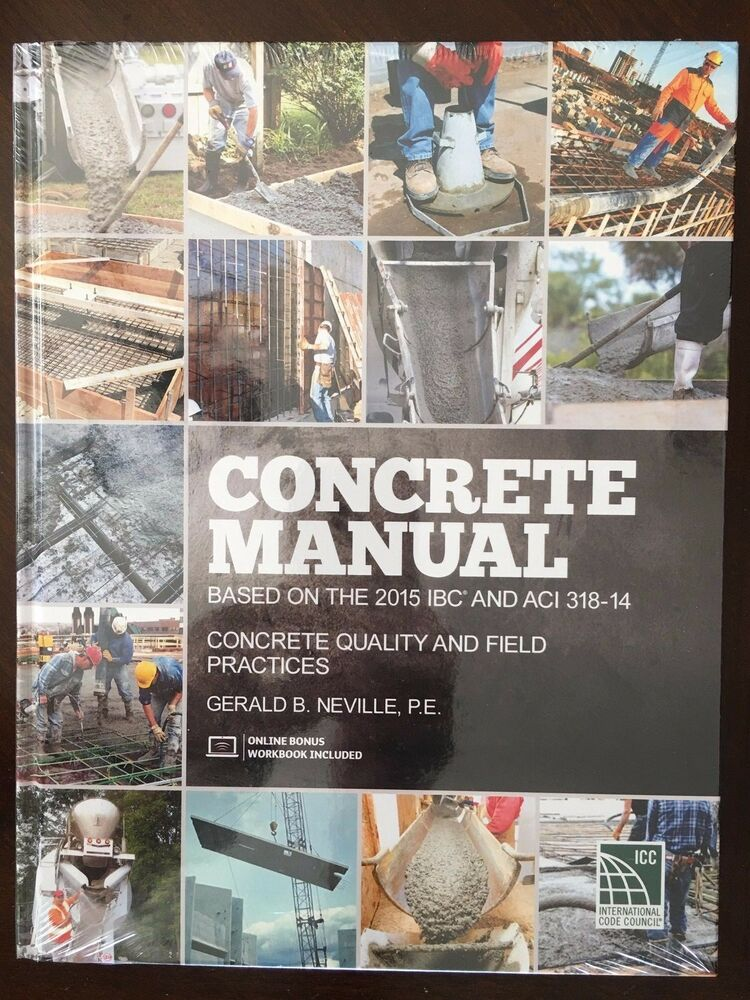 Concrete manual based on the 2015 ibc and aci 318 14 9781609832674 concrete manual based on the 2015 ibc and aci 318 14 9781609832674 ebay fandeluxe Image collections