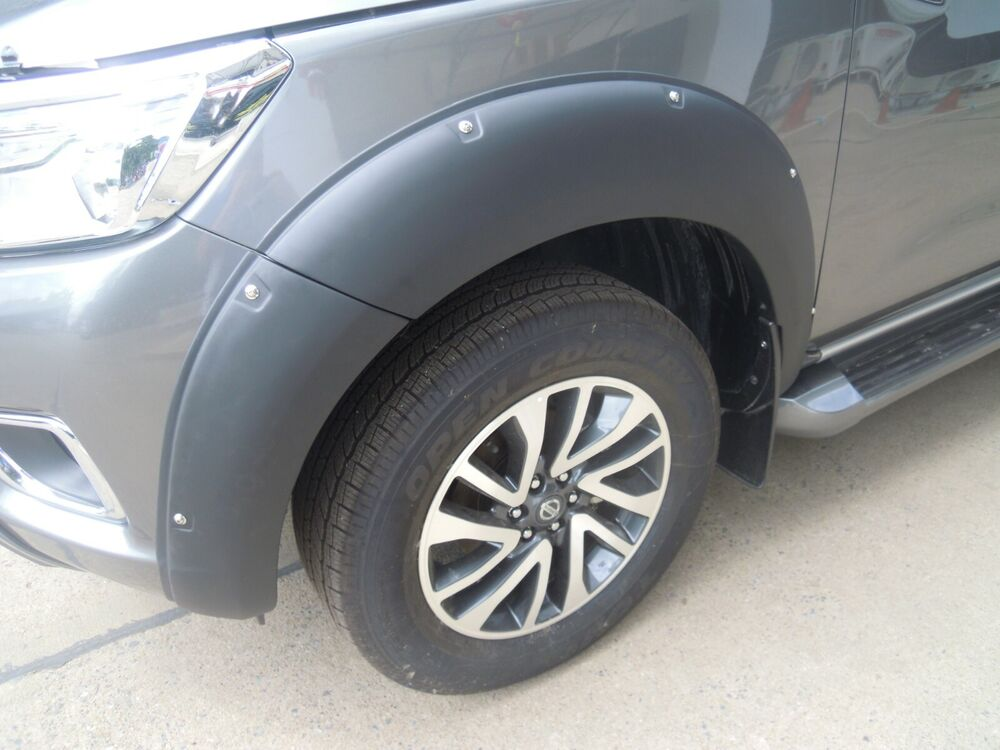 2016 Nissan Frontier Accessories >> FENDER FLARES V.2 PAINTED FOR NISSAN FRONTIER NAVARA NP300 ...