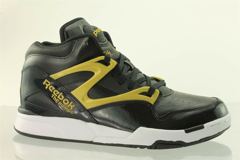 reebok pump omni lite mens classic boots v61438 black trainers limited edition ebay. Black Bedroom Furniture Sets. Home Design Ideas