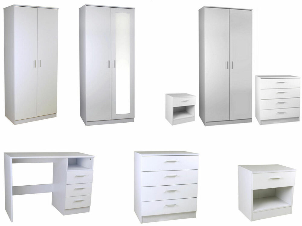 high gloss white bedroom furniture sets full supreme range ebay