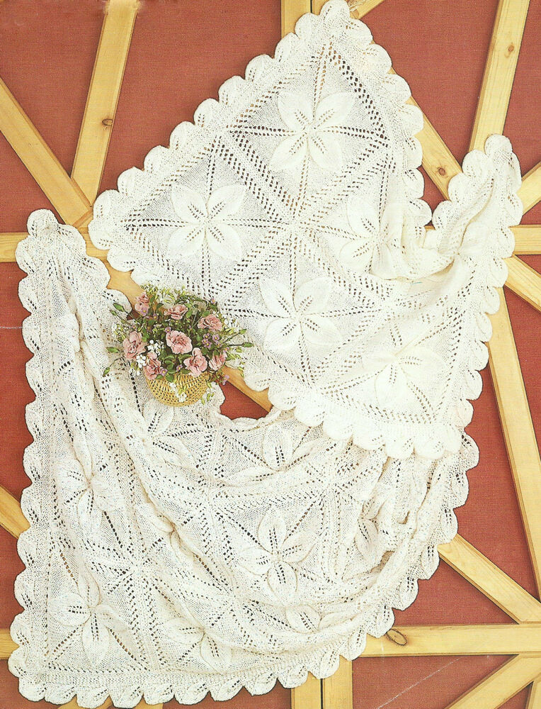 Baby Knitting Pattern Blanket and Cot Cover Gorgeous ...