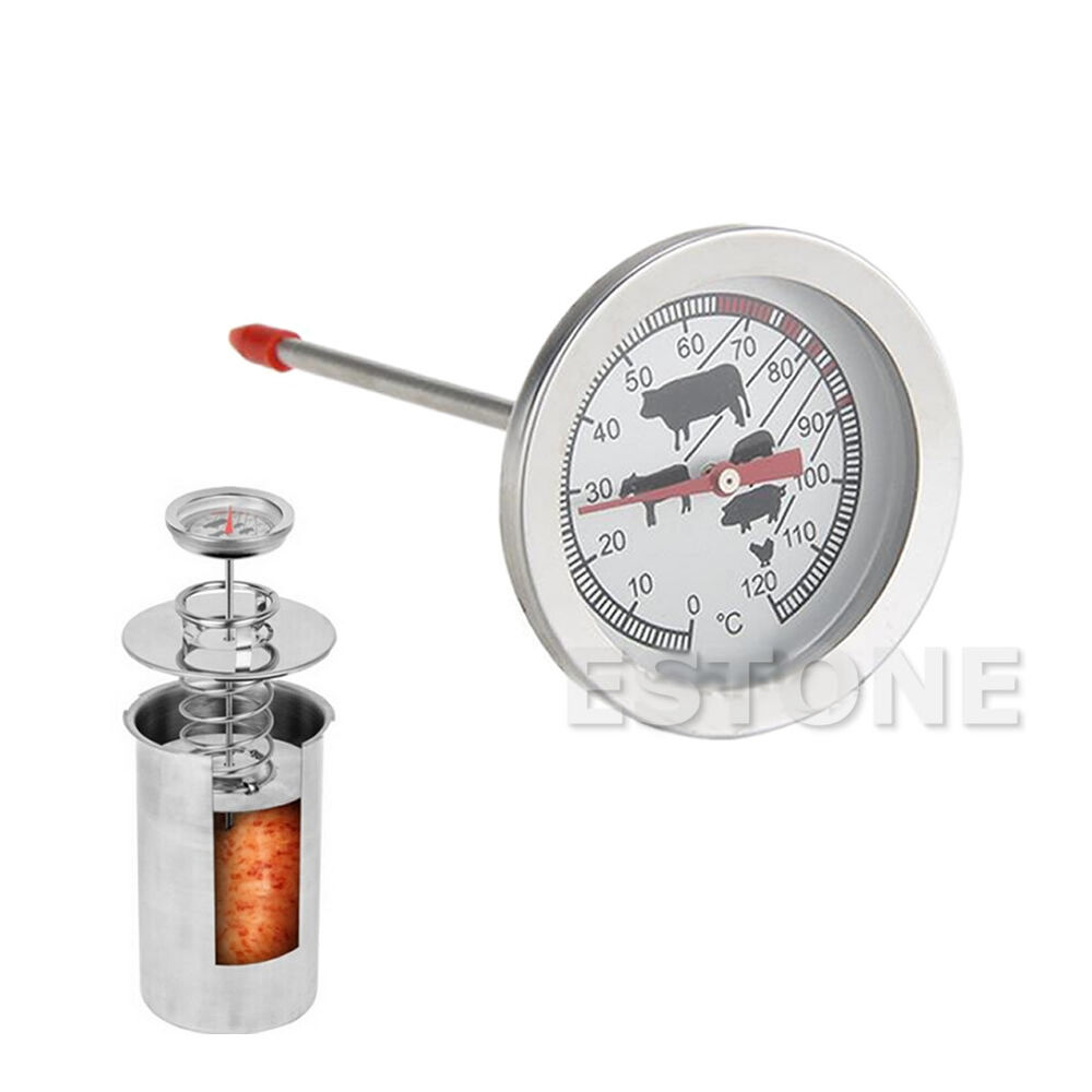 1pc stainless steel instant read probe thermometer for food cooking meat bbq new ebay. Black Bedroom Furniture Sets. Home Design Ideas