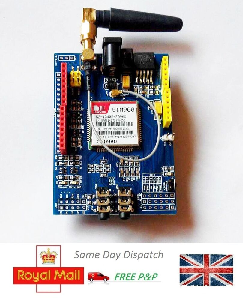 Sim gprs gsm development board shield quad band kit for