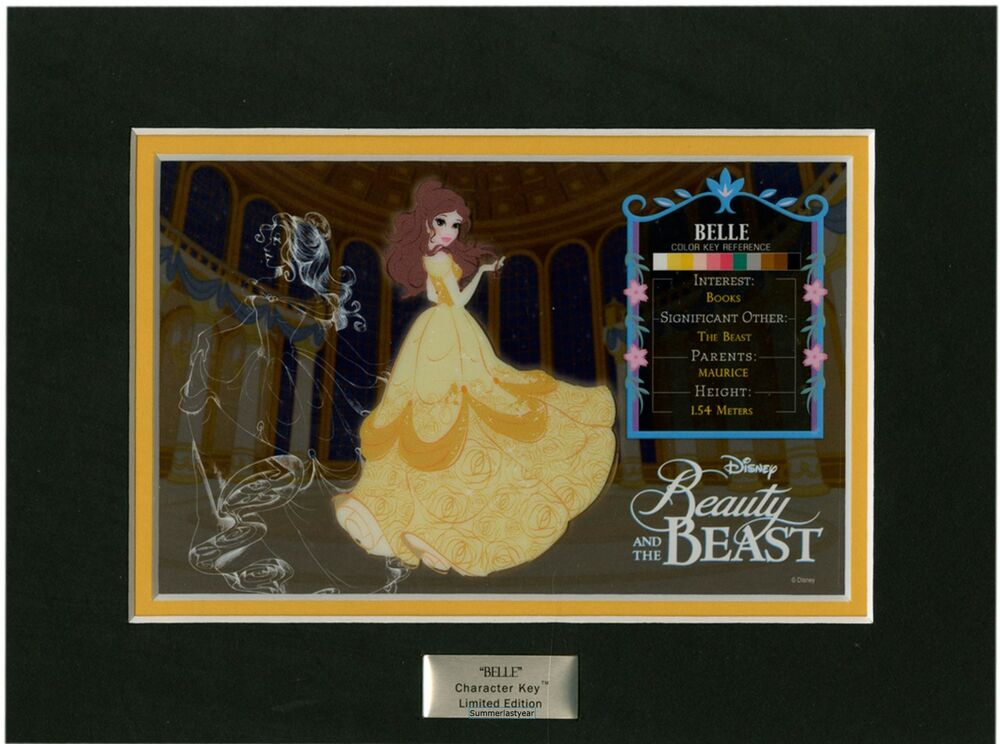 Belle Limited Edition Character Key Disney Beauty And