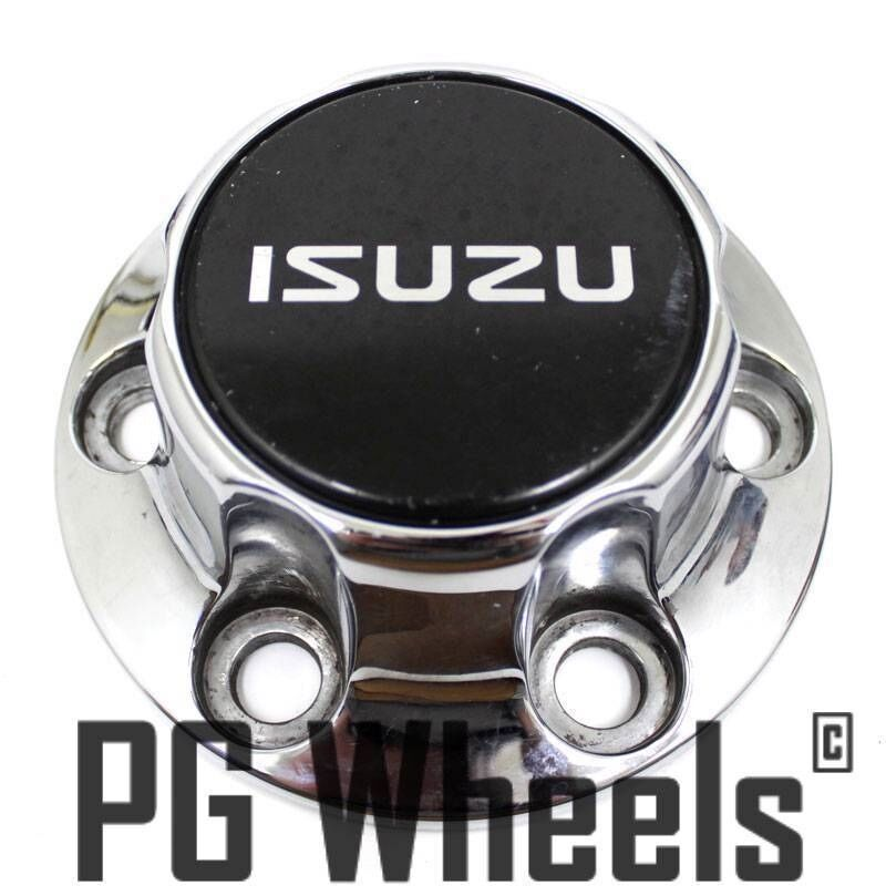 Isuzu Rodeo Front Hub Cover : Isuzu rodeo wheel chrome center caps ebay