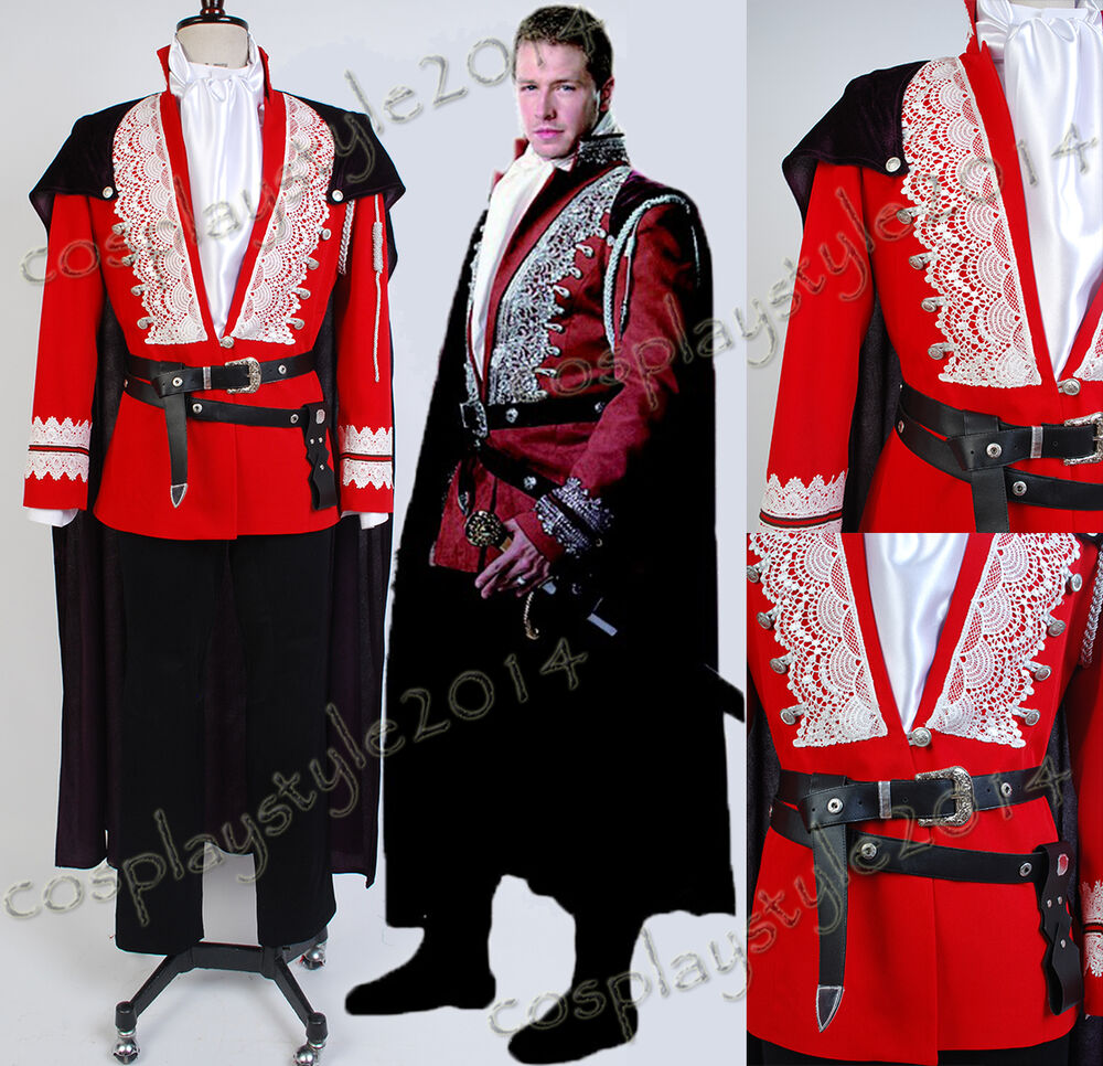Once Upon A Time Costumes: Once Upon A Time Prince Charming Josh Dallas Cosplay