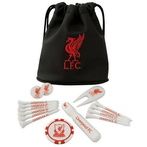 Liverpool Fc Tote Bag Golf Golfer Gift Set Tees Ball Marker Etc Ebay