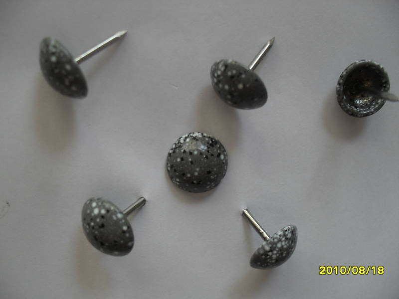 25pcs upholstery tack decorative nails antique granite for Decorative nails