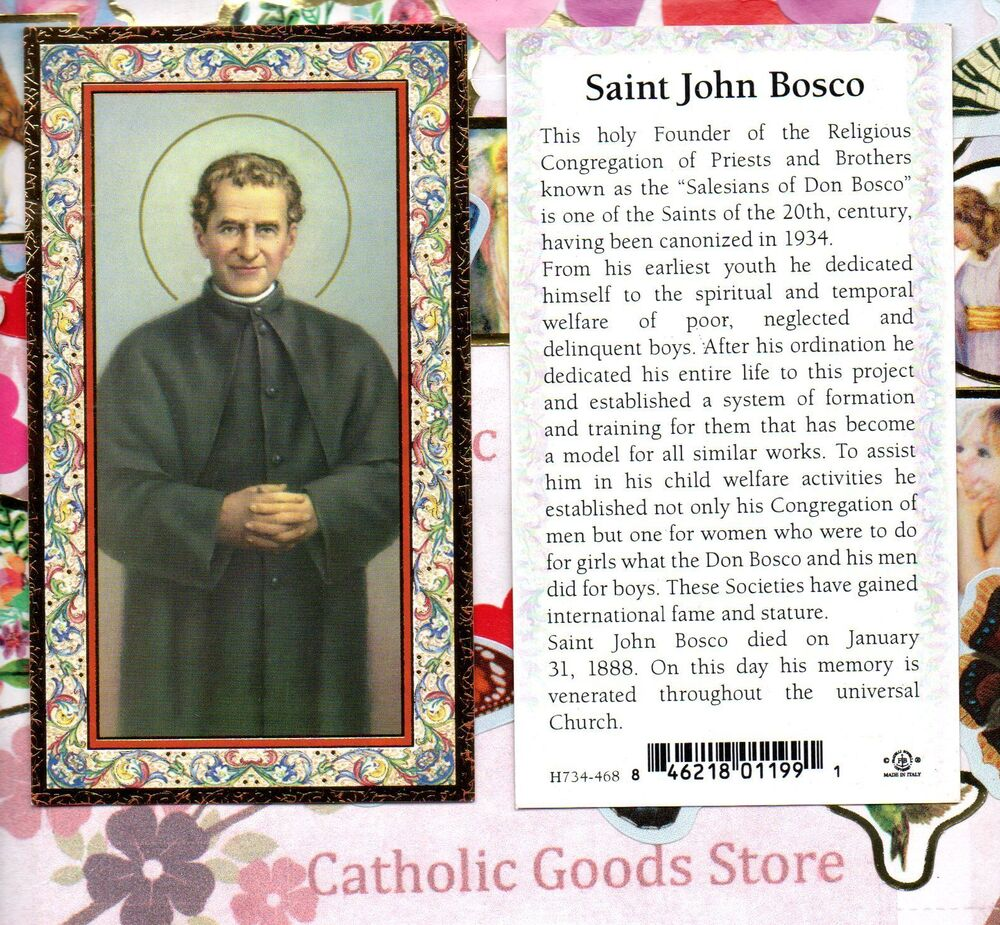 a biography of john bosco John bosco popularly known as don bosco [ˌdɔm ˈbɔsko], was an italian  roman catholic priest, educator and writer of the 19th century.