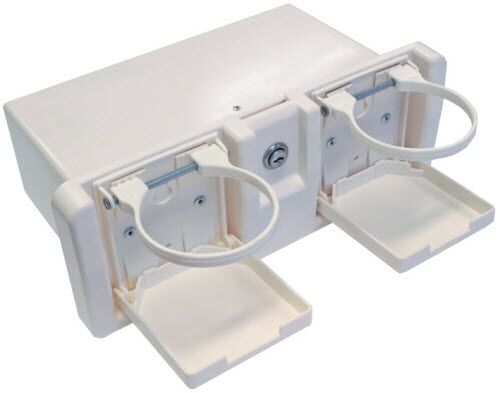 Boat glove box marine grade glove box for boats with drink for Boat mailbox