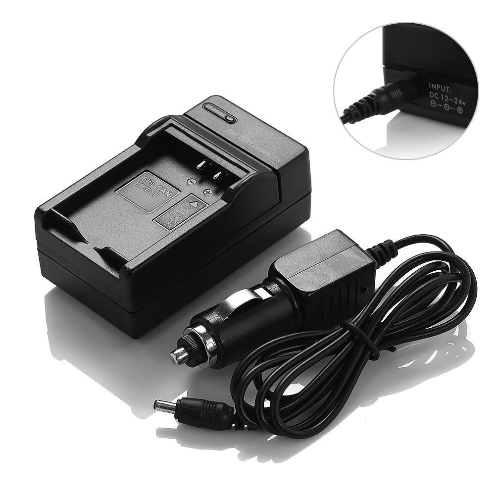 lp e10 lpe10 battery charger for canon eos 1100d rebel t3. Black Bedroom Furniture Sets. Home Design Ideas