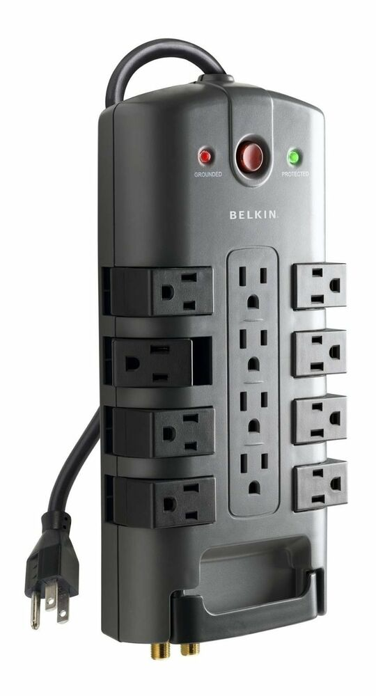 Belkin Pivot Plug 12 Outlet Surge Protector Power Strip