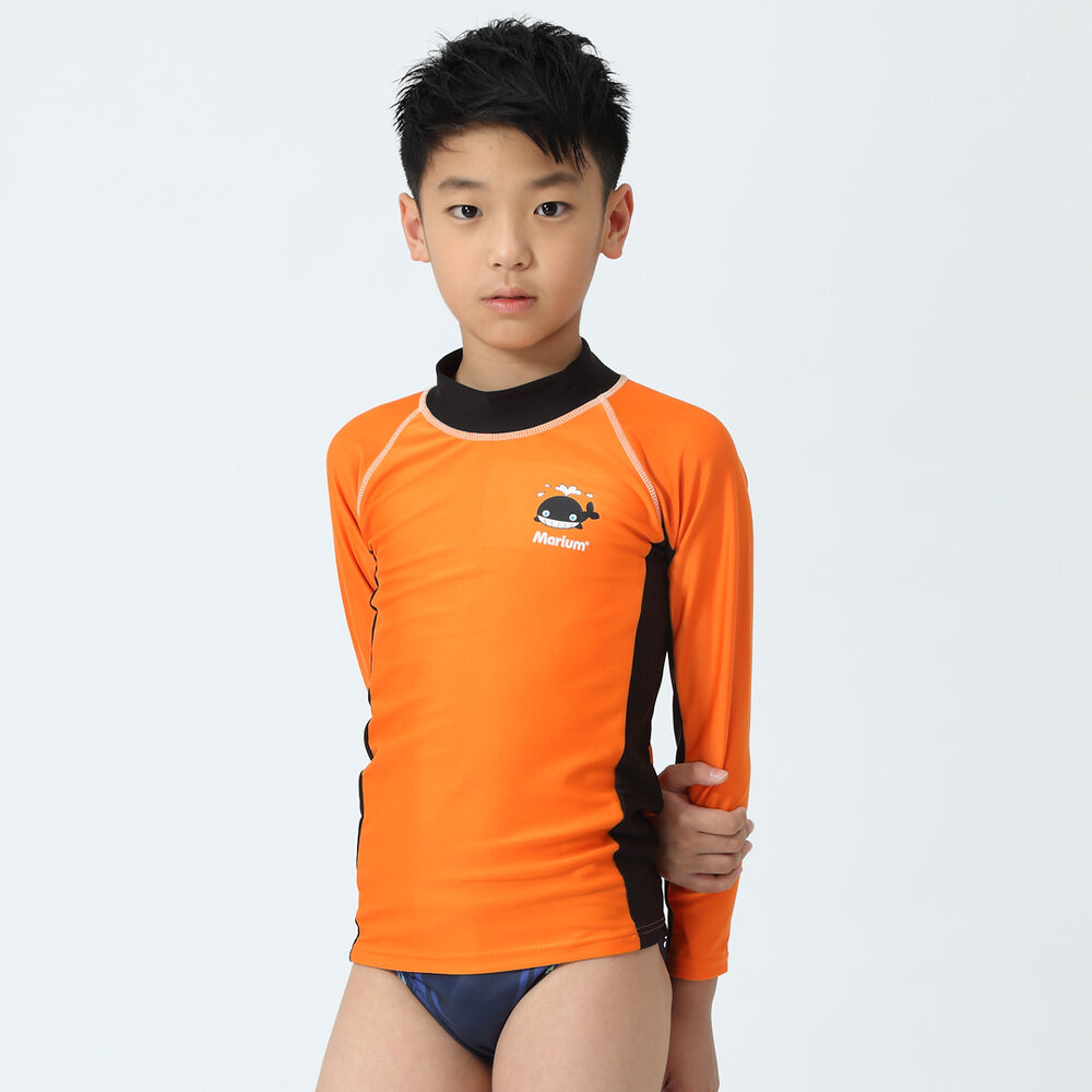 Rash Guard Long Sleeve Swimwear Swimming Child Kid Boy ...