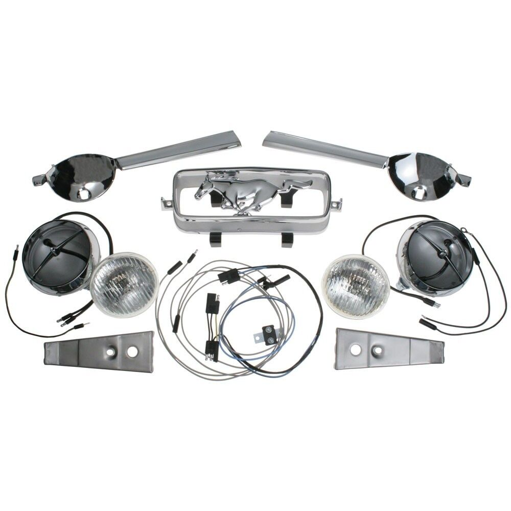Mustang Gt Fog Light Corral Switch Kit Complete Brand New