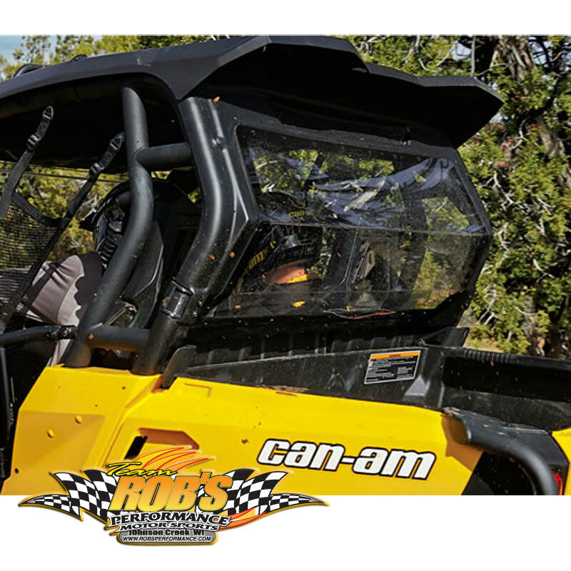 Can Am Commander Glass Windshield