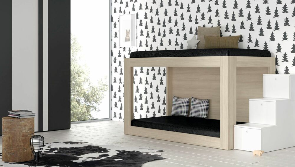 traum kinderzimmer mit etagenbett kleiderschrank. Black Bedroom Furniture Sets. Home Design Ideas