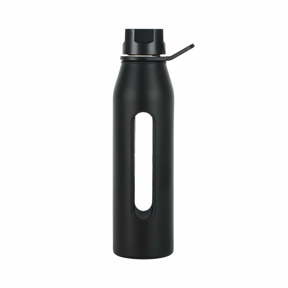 takeya classic glass water bottle with silicone sleeve. Black Bedroom Furniture Sets. Home Design Ideas