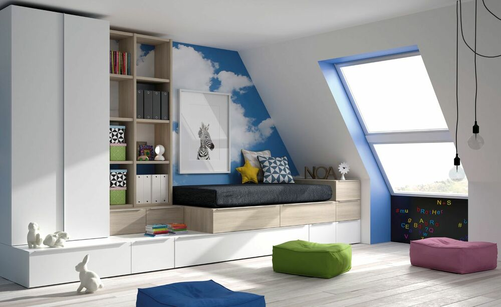 raumwunder kinderzimmer jugendzimmer schubladenbett. Black Bedroom Furniture Sets. Home Design Ideas