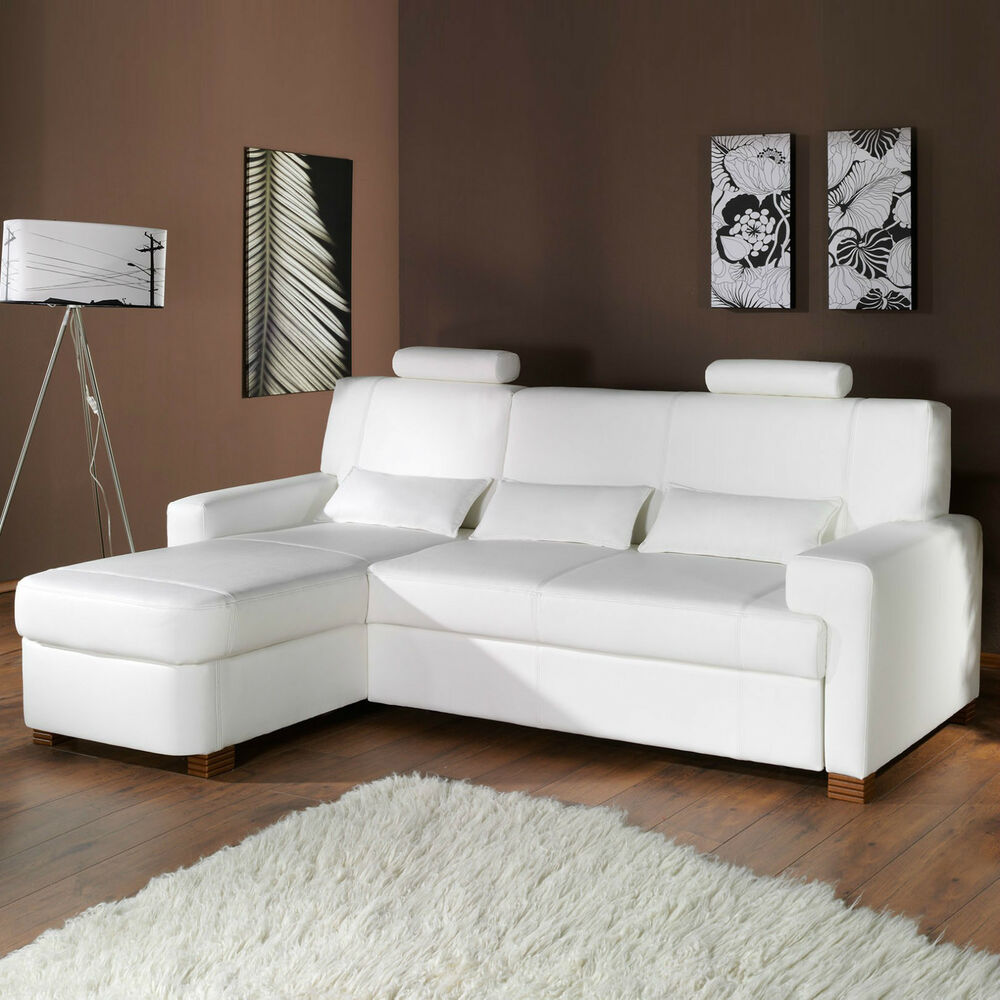 polsterecke ecksofa corner sofa modena ebay. Black Bedroom Furniture Sets. Home Design Ideas