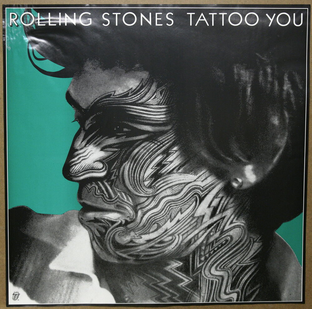 The Rolling Stones Keith Richarards Tattoo You Original