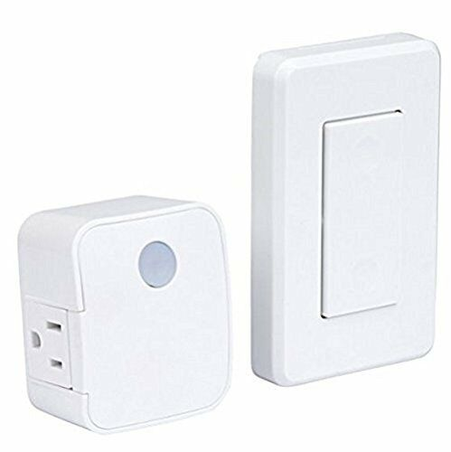 westek rfk100lc rfk101lc wall mounted switch and plug in receiver new free sh ebay. Black Bedroom Furniture Sets. Home Design Ideas