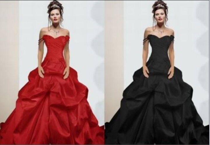 taffeta sexy wedding dress ball gown size 6 8 10 12 14 16 18 ebay