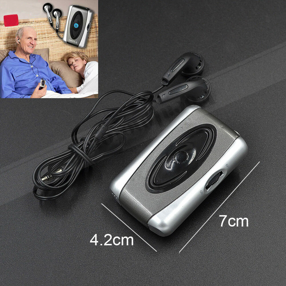 Hearing Aid Listen Up Voice Spy Sound Amplifer For Old Man