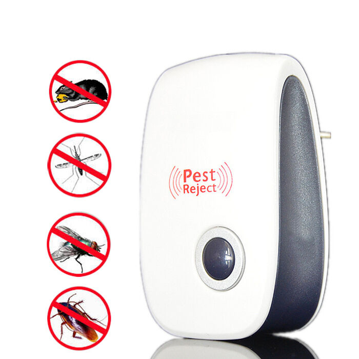 Ultrasonic electronic anti mosquito insect cockroach pest for Pest reject opiniones