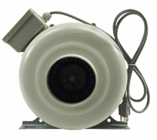 Pvc Fans And Blowers : Tjernlund quot inch plastic cfm inline duct fan booster
