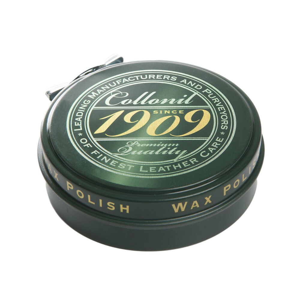collonil 1909 wax high gloss leather shoe paste ebay
