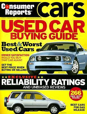 consumer reports used car buying guide best worst used cars 1933524162 ebay. Black Bedroom Furniture Sets. Home Design Ideas