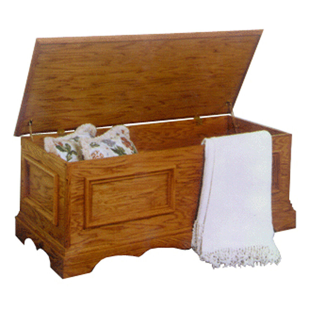 Blanket Chest Plan Ebay