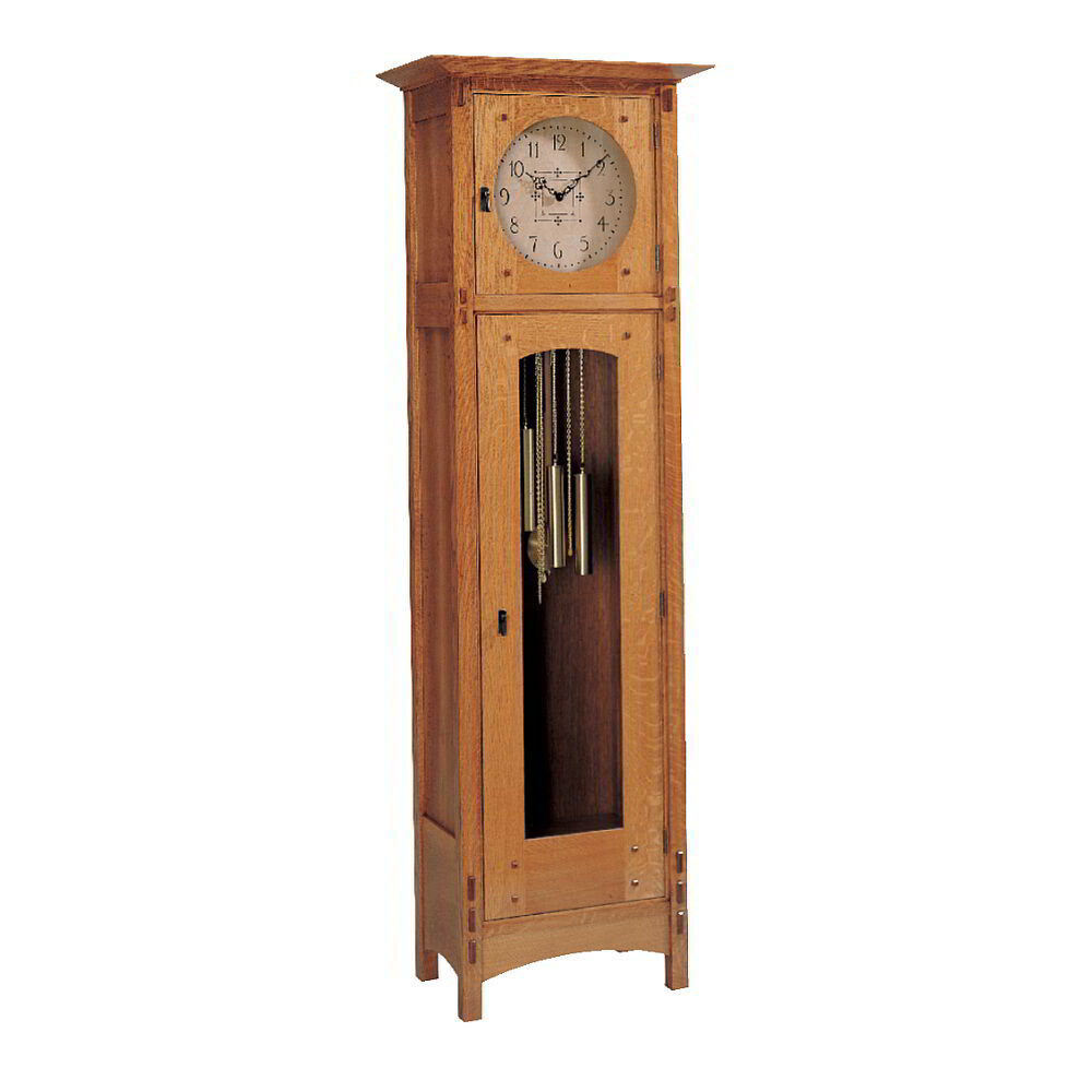 Arts & Crafts Style Grandfather Clock Plan | eBay
