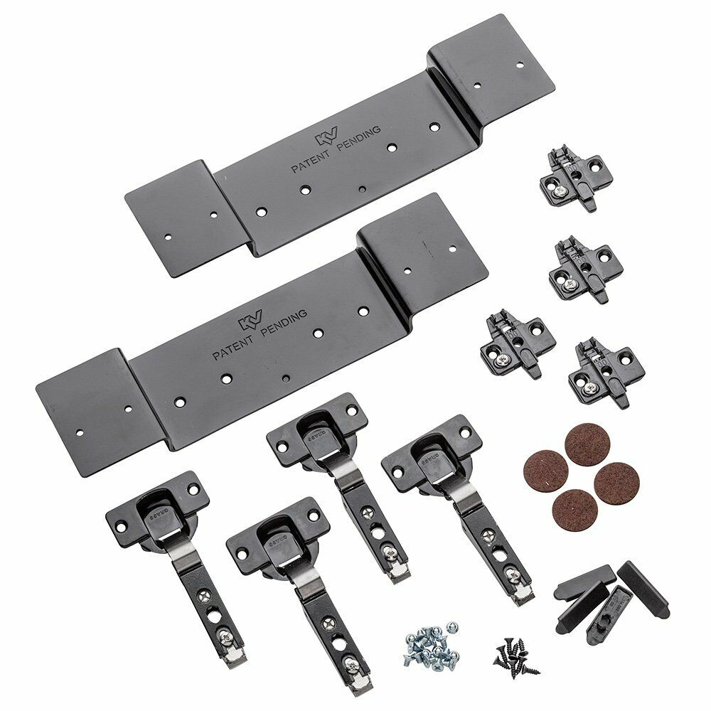 Full Overlay Hinge Kit For Kv8091 Pocket Flipper Door