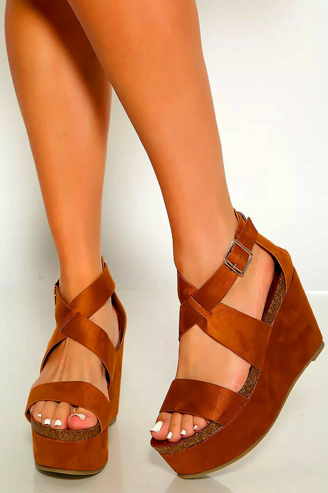 ec3ee9c770b8 Details about Sexy Taupe Brown Platform Chunky High Heels Thigh High Boots  Faux Suede 8.5