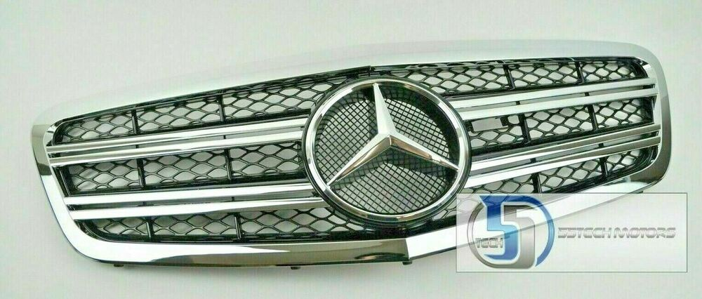 Mercedes w221 2010 2013 s class s550 s65 s600 grill grille for Mercedes benz s600 amg 2010