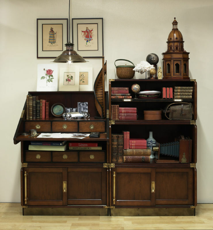 brave wood desk and bookcase use
