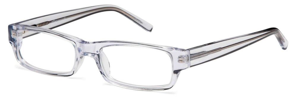 unisex rectangular glasses frames clear prescription