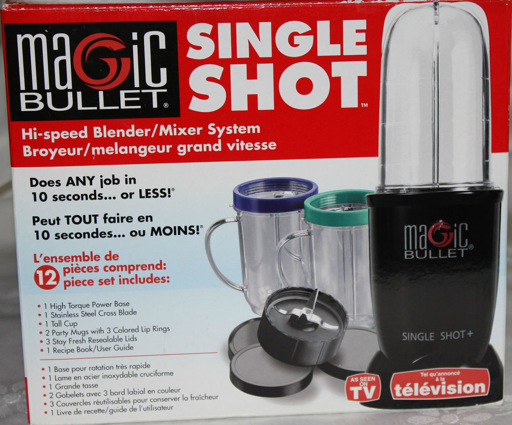 Magic bullet set small kitchen appliances ebay home for Magic bullet motor size