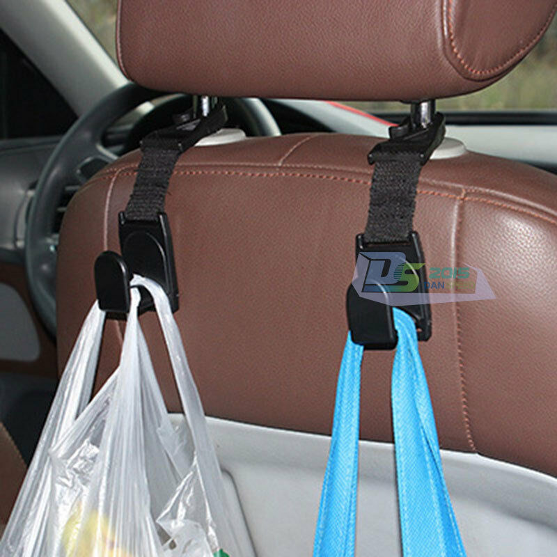auto car vehicle accessories car seat bag grocery hanger hook holder organizer ebay. Black Bedroom Furniture Sets. Home Design Ideas
